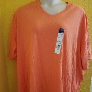 New ORANGE T Shirt PLUS Size 4X 30 32